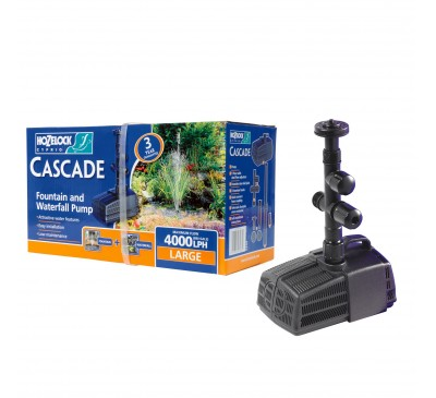 Hozelock Cascade 4000 Fountain & Waterfall Pump